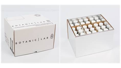 Botanic Lab - Foil Pack - Boxes and Packaging